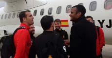 Molango conversaba esta temporada con el capitán Cabrero. Foto: TTdeporte.com.