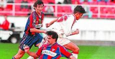 El Eibar de Barasoain se salvó en unas circunstancias mucho peores que las del Mallorca. Foto: Estadio Deportivo.