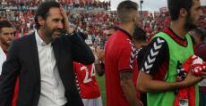 Vicente Moreno tras el PlayOff de ascenso a Primera con el Nàstic. Foto: Mundo Deportivo.
