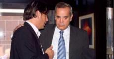 Alemany y Asensio conversando en su despacho en Madrid. Foto: Diario de Mallorca.