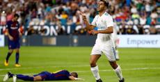 Asensio ya sabe lo que es marcarle al Barça este año en pretemporada.