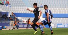 Ni con la calidad de Fullana fue suficiente para puntuar en un mal partido en la Nova Creu Alta . Foto: GuiemSports.