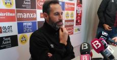 Moreno pensativo en la sala de prensa. Foto: TTdeporte.com.