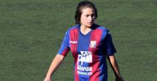 Miquela Torrens en su etapa como futbolista del Poblense. Foto: Facebook.