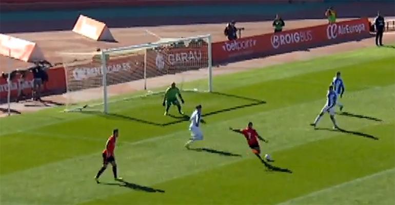 Ariday fue uno de los protagonistas del partido con su gol. Foto: IB3TV