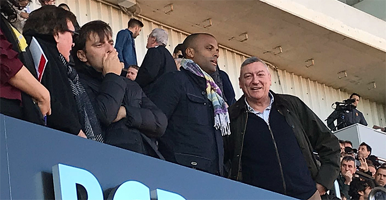 Bestard, Miralles y Molango. Foto: IB3TV