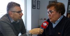 Tomeu Terrasa y Miquel Bestard durante la entrevista en Son Malferit. Foto: TTdeporte.com.