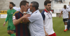 El Poblense también sufrió un duro revés por segundo año en el PlayOff. Foto: Fútbol Balear.