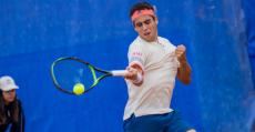 Munar durante el torneo de Caltanissetta en Sicilia. Foto: Giornale Cittadino.