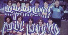 Plantilla del Karbo Deportivo. Uno de los equipos de futfem más laureados en los 80.