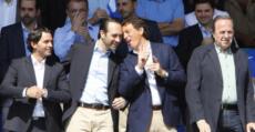 Isern en el palco del Estadi Balear. Foto: Fútbol Balear.