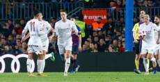 Señé marcó esta temporada en el Camp Nou en la Copa del Rey. Foto: LaLiga.
