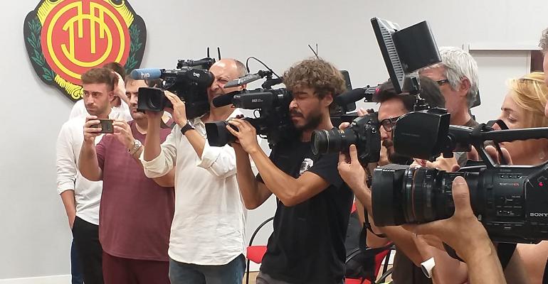 La expectación mediática ha crecido significativamente. Foto: TTdeporte.